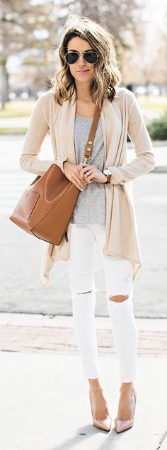 Neutral Mix Outfit by Hello Fashion