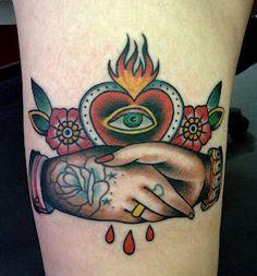 Useful Boob tattoo flaming heart All