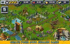 Jurassic Park Builder Review - http://mobilephoneadvise.com/jurassic-park-builder-review