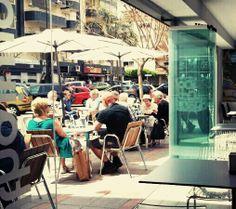 Así ha estado nuestra terraza de #Fuengirola a mediodía, ¡como si fuera #verano!