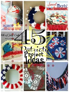 45 Patriotic Project Ideas from Happy Hour Projects