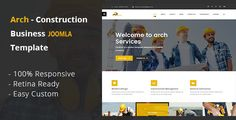 Arch - Construction, Building And Business Joomla! Template (Business) - http://wpskull.com/arch-construction-building-and-business-joomla-template-business/wordpress-offers