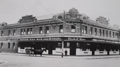 Kent Hotel in Hamilton,New South Wales in 🌹 Newcastle Town, Australian Road Trip, Historical Architecture, My Town, South Wales, Australia Travel, Family History, Old Photos, Hamilton