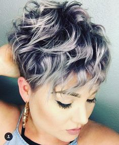 "5,381 Likes, 32 Comments - @shorthair_love on Instagram: ""Who loves curls? @peachpaintshair #shorthairlove #pixiecut #pixie #undercut #curlyhair #hair…"""