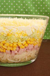 sałatka warstwowa z ananasem i porem2