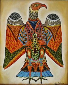 Abstract  Eagle   open edition print by Catherinenolin on Etsy, $19.00