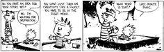 Calvin's an ENFP