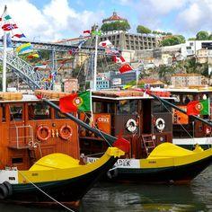 Je ne me lasse pas d'admirer les #rabelos de #Porto   #destinationporto #douro #Ribeira #rabelosporto #bateauxporto #portoboats #visitporto #oporto #portugal #visitportugal #instaportugal #instatravel #voyage #voyageportugal #voyageporto #vacances by destinationporto