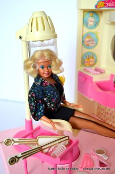 antigo Salão de Beleza da Boneca Barbie