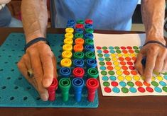 Occupational Therapy Assistant, Occupational Therapy Activities, Therapy Games, Ocupational Therapy, Therapy Tools, Therapy Ideas, Nursing Home Activities, Elderly Activities, Dementia Activities