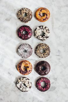Coffee donuts wallpapers for iPhone and Android.☕🍩 Click the link below for Tech News and Gadget updates Just Donuts, Coffee And Donuts, Mini Donuts, Baked Donuts, Vegan Doughnuts, Dunkin Donuts, Vegan Sweets, Vegan Desserts, Delicious Donuts