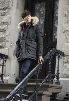 Choi Jin Hyuk Models for Daniel Cremieux Winter Collections