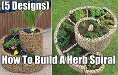 How To Build A Herb Spiral, gardening, garden, herb, herbs, herb garden, homesteading, easy garden projects, herb spiral, food,