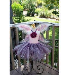 Purple and Pink Fairy Tutu Dress $55.00