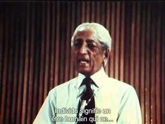 Krishnamurti - Comment apprendre sur soi-même? - vostfr - YouTube