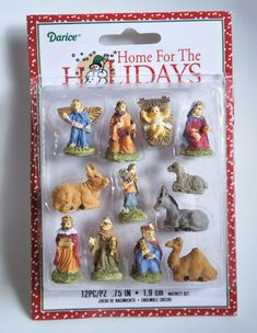 �I SPY� Nativity Ornaments What a great way to keep Christ is Christmas!!! Baernie … buy these and we'll do an I spy for Andrew … I think you can get them at Michael's.