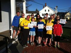16 of us gathered in York, Maine for a 2.62 mile run this evening. Thank you for doing this today. We all needed this time together. God bless Boston, runners and families everywhere!