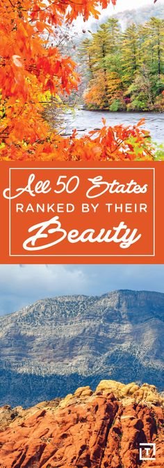 All 50 States, Ranked by Their Beauty