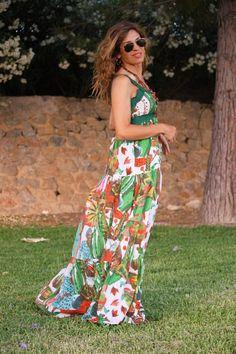 vestidos desigual #tropical #kissmylook