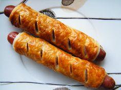francuskie hot dogi na szybko Hot Dog, Carrots, Vegetables, Food, Essen, Carrot, Vegetable Recipes, Meals, Yemek