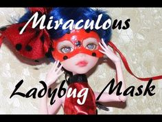 How to make Miraculous Ladybug Mask - Tutorial DIY
