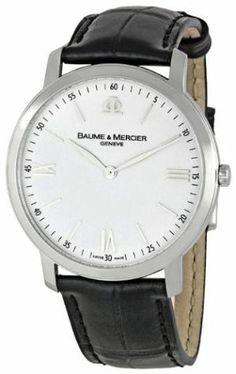 Baume  Mercier Men's 8849 Classima Executives White Dial Watch