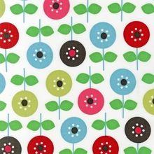 Robert Kaufman - Ann Kelle - Mod Flowers - Cord Fabric