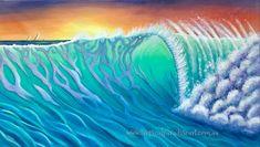 Vibrant Tropical Art & Creations by Jenn Payne Tropical Art, Tropical Paradise, Flotsam And Jetsam, Original Paintings, Vibrant, Colours, Canvas, Tela, Canvases