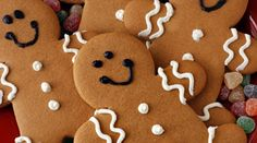 Use your magic to decorate these delicious little ginger guys, made from Duncan Hines Spice Cake Mix. Or start a family tradition by making Gingerbread Men with your children. Vegan Christmas Cookies, Christmas Cookie Exchange, Holiday Cookies, Gingerbread Man Cookies, Christmas Gingerbread, Gingerbread Men, Gingerbread Recipes, Holiday Baking, Christmas Baking