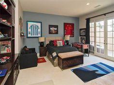 Soccer Decor, Room Kids, Kids Bedroom, Bedroom Ideas, Soccer Bedroom,  Framed Jersey, Soccer Pics, Kid Spaces, Soccer Players