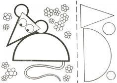 Аппликации для детей из геометрических фигур
