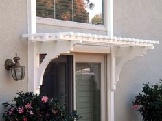 Doors – ArborOriginal - trellis over sliding door to back patio