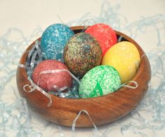 Picture of How to Dye Easter Eggs With Rice