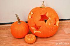 Simple Pumpkin Carving Using Cookie Cutters
