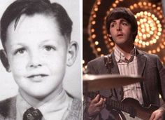 vintage everyday: Before and After They Were Famous – 18 Amusing Childhood Pictures of Your Favorite Rock Stars