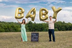 Baby Announcement Balloons Casey