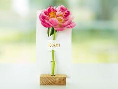 Flower note bud vase Mooiwatbloemendoen.nl