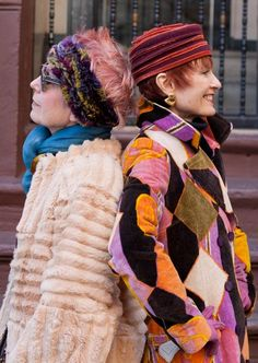 advanced style<3  These ladies are awesome