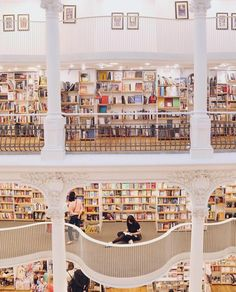 The most beautiful book store in the world.