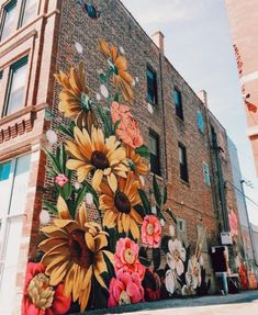 beautiful street art 💐 uploaded by ariel 🔮 on We Heart It Banksy Girl, Street Art, Pinturas Disney, Oeuvre D'art, Pretty Pictures, Artsy Fartsy, Art Inspo, Vsco, Cool Art