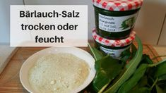 Bärlauch-Salz Pesto, Grains, Rice, Homemade, Recipes, Food, Dressing, Kitchens, Chef Recipes