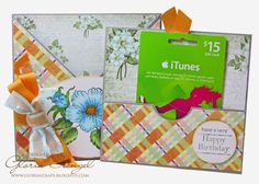 Scraps of Life: Heartfelt Creations Wednesday - Gift Card Holder