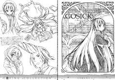 Gosick (Grevil de Blois, Cecile Lafitte, Victoriqu