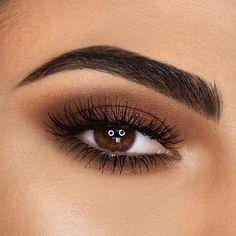 "My favorite kind of makeup @giuliasalemi ⭐️ Eye makeup:  @smashboxitaly Photo Finish Lid Primer  @morphebrushes 35k - 35 color koffee eyeshadow palette  @nablacosmetics Eyeshadow ""On the road"" + Shade & Glow ''Obsexed""  @lancomeofficial Monsieur Big Mascara  @eylureofficial Pro-Lash Individuals Short/Medium/Long  ⭐️ Brows:  @nablacosmetics Brow Pot ""Uranus""   @benefitcosmeticsitaly Ready, Set, Brow!   #mrdanielmakeup"