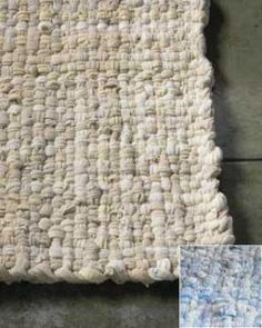 recycled sweater rug