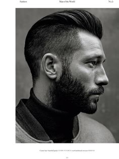 Men's Haircuts : Tetszik, amikor a szakáll hosszabb? / Do you like when the beard is longer? Trendy Mens Haircuts, Trendy Hairstyles, American Crew, Hair Styles 2014, Short Hair Styles, Peaky Blinder Haircut, Beard Haircut, Beard Model, Great Beards