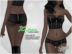 Sims 4 CC's - The Best: Lingerie by Solistair