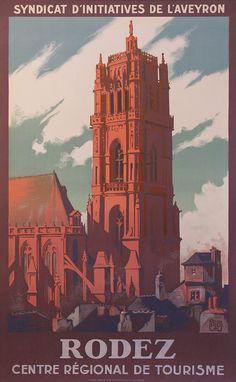 Rodez Poster