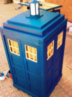 Ya parece una TARDIS