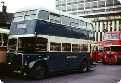 Former London RT 3633 (MXX 148) with Samuel Ledgard at Chester Street bus station in Bradford.